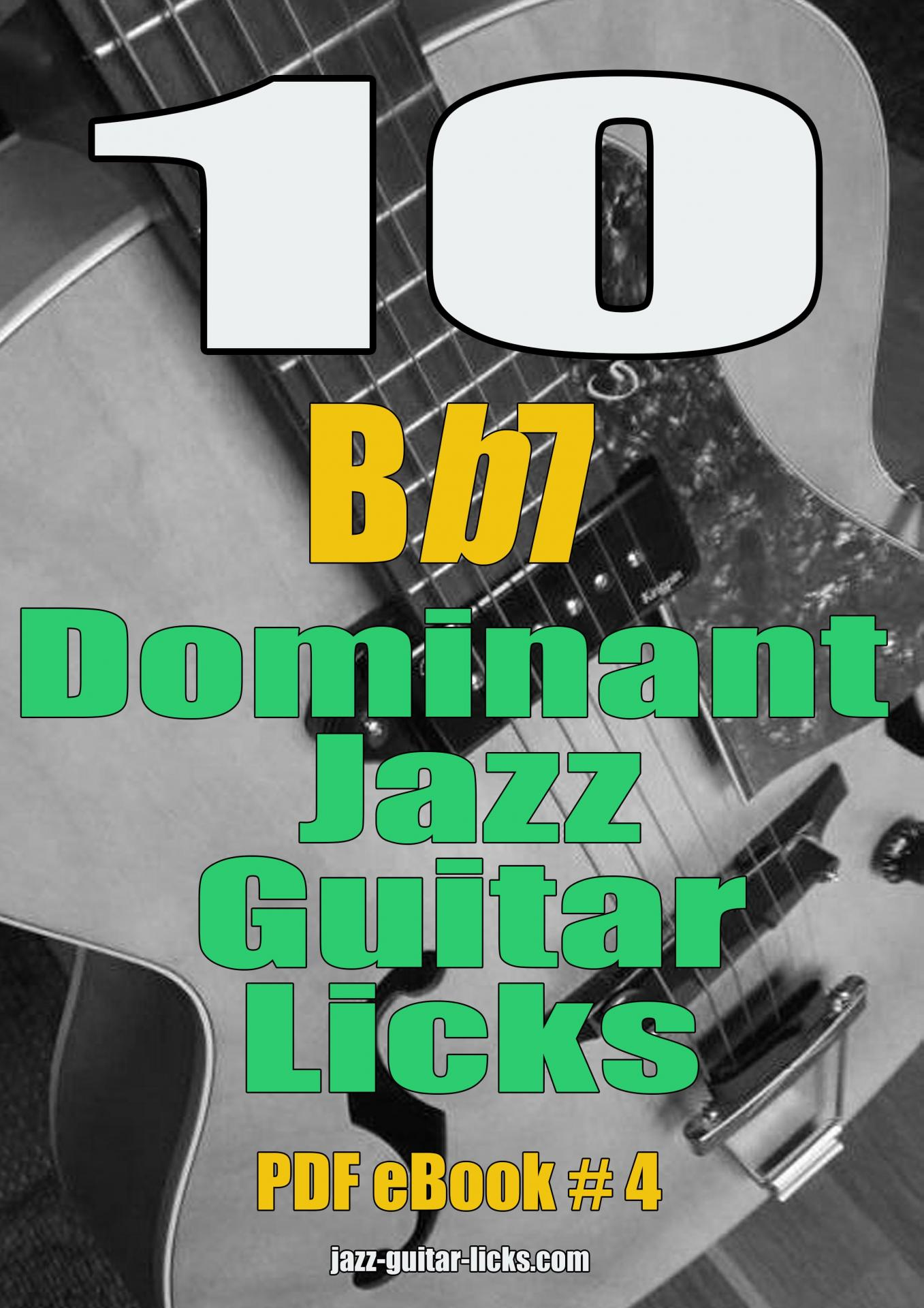 10 dominant jazz guitar licks ebook pdf