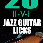 20 ii v i jazz guitar licks ebook pdf