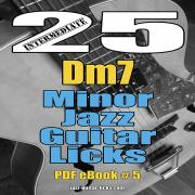 25 minor jazz guitar licks carre