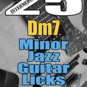 25 minor jazz guitar licks E-book pdf
