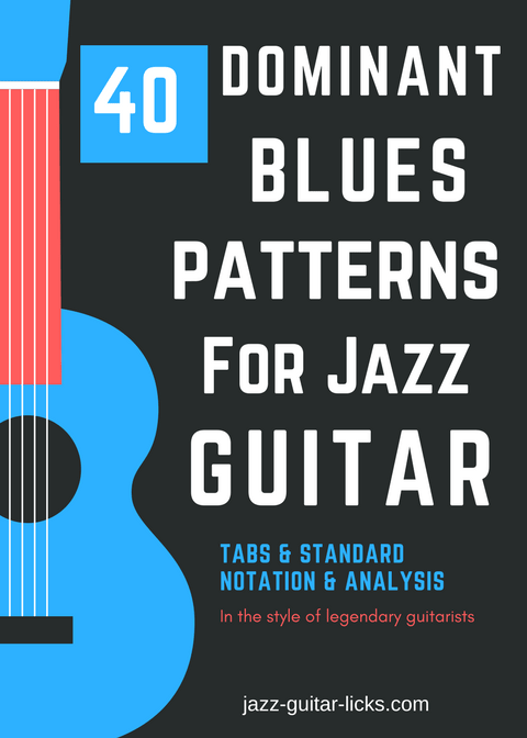 40 dominant blues jazz patterns for guitar eBook PDF