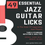 49 jazz guitar lines carre