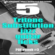5 tritone substitution jazz guitar licks ebook carre