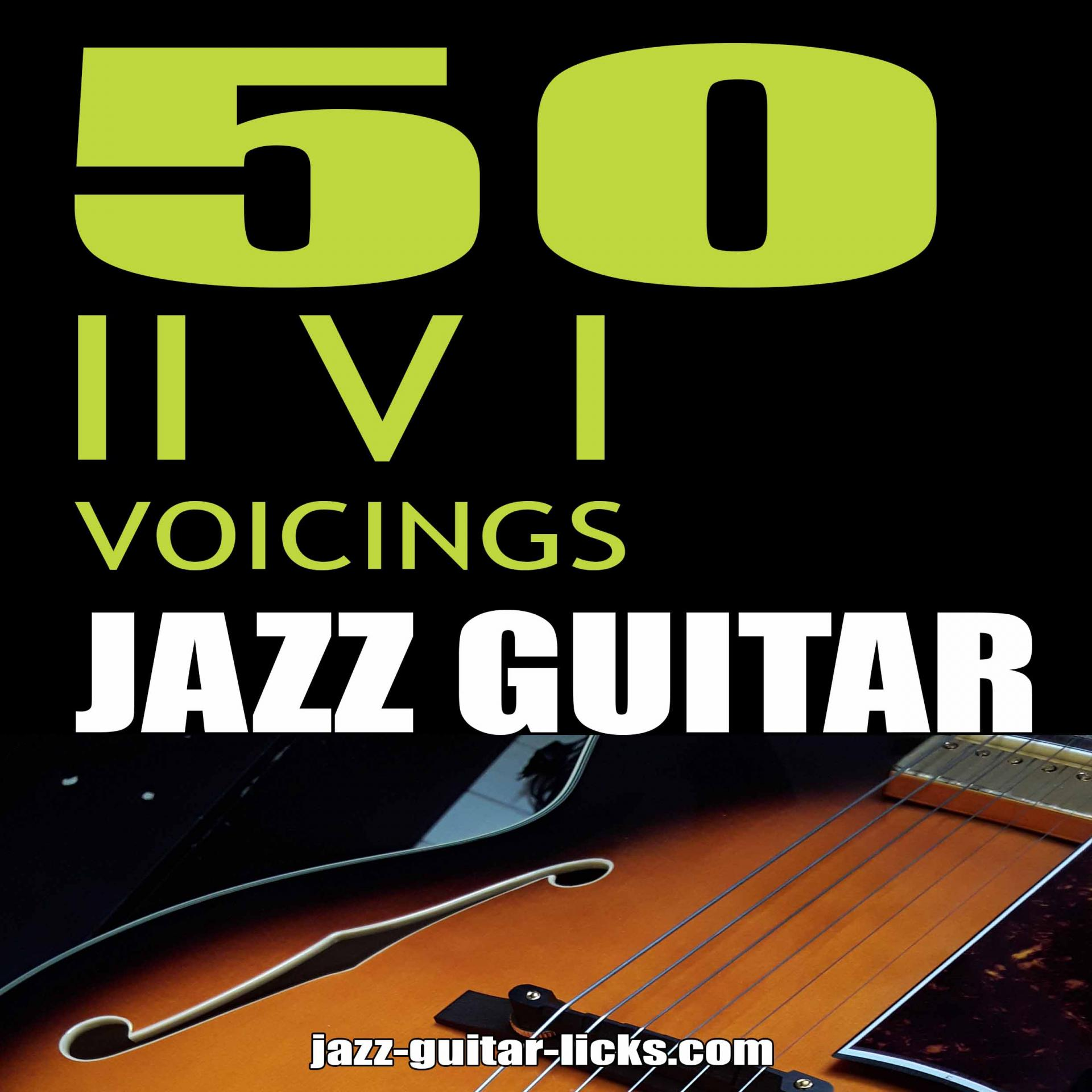 Ii V I Voicings 50 Exercises For Jazz Guitar Pdf Ebook