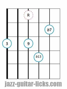 9b13 guitar chord 14