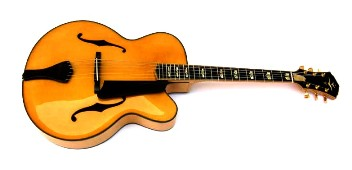 Archtop jazz guitar