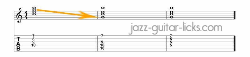 Drop 2 chords