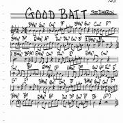 Good bait - jazz lead sheet
