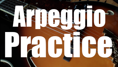 Guitar arpeggio practice