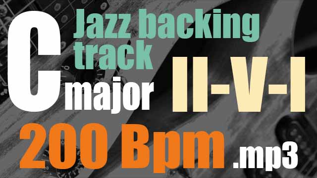 II-V-I jazz backing tracks 200