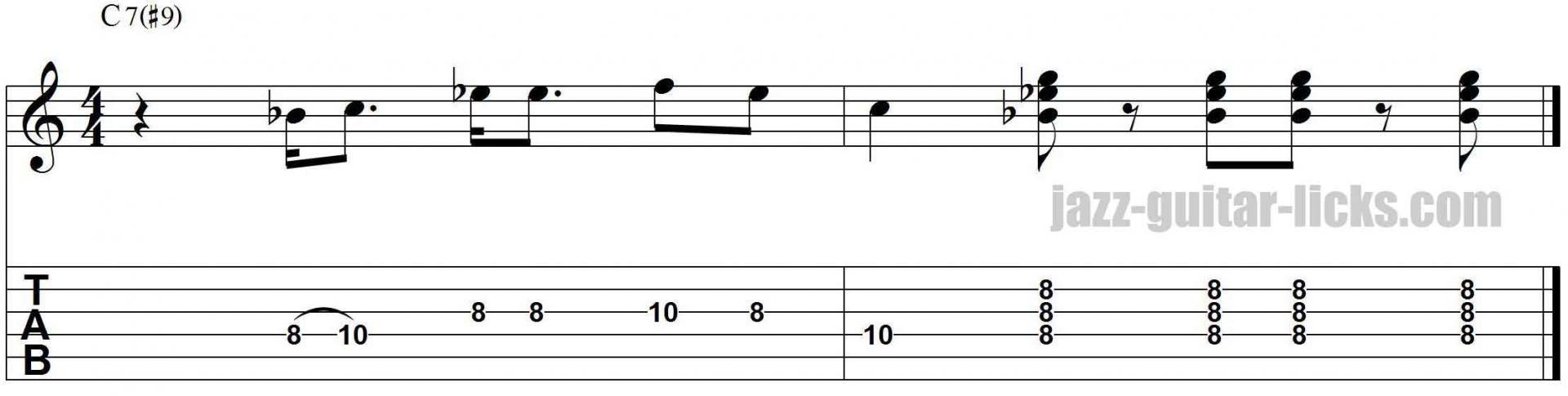 jazz blues guitar licks pdf