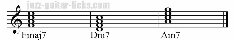 Minor chord substitution