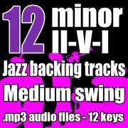 Minor ii v i backing tracks