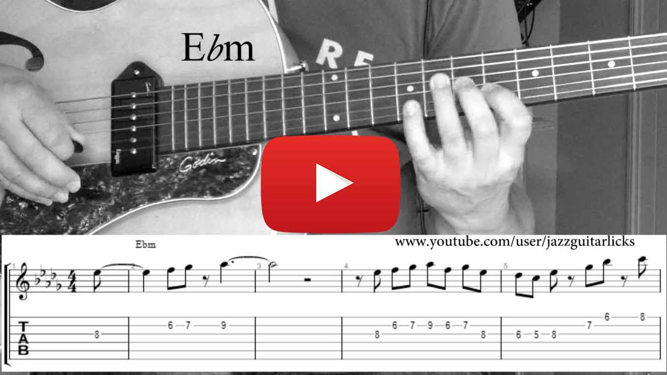 Grant Green Jazz Guitar Lesson Solo Transcription With Tabs