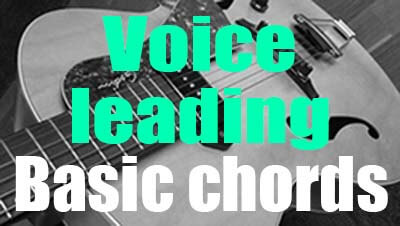 Voice leading basic chords