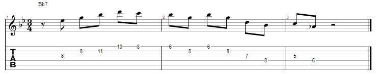 Wes montgomery dominant licks 10 bis page 1