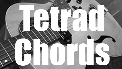What are tetrad chords