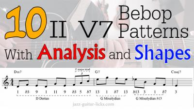 10 bebop patterns