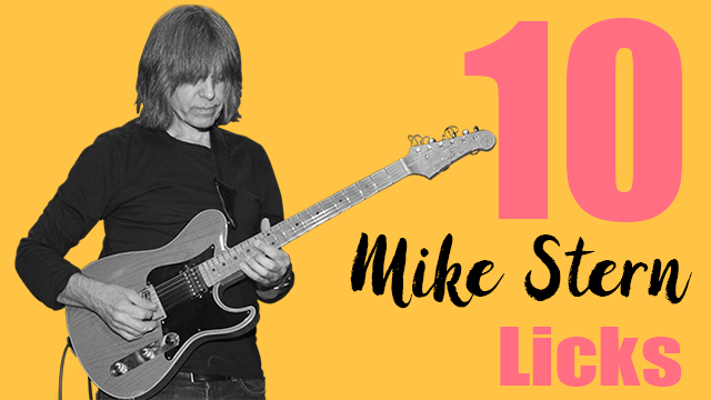 10 mike stern licks