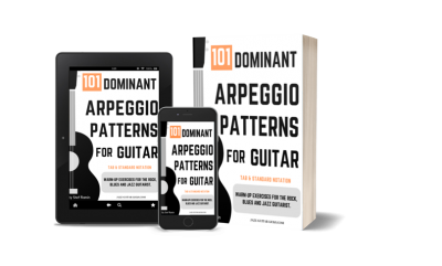 101 dominant arpeggio patterns method for guitarist pdf ebook
