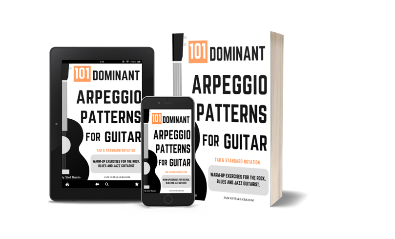 101 dominant arpeggio patterns for guitarist pdf ebook
