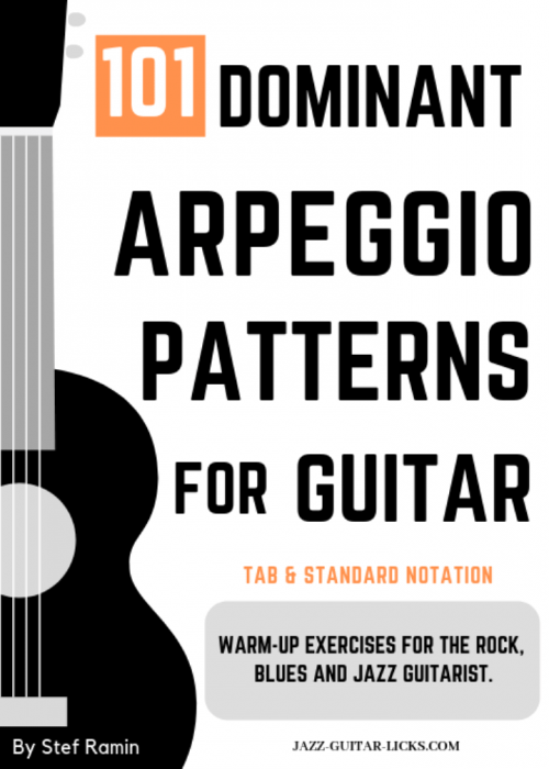 101 dominant arpeggio patterns for guitarist PDF eBook
