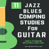 11 jazz blues comping studies for guitar carre