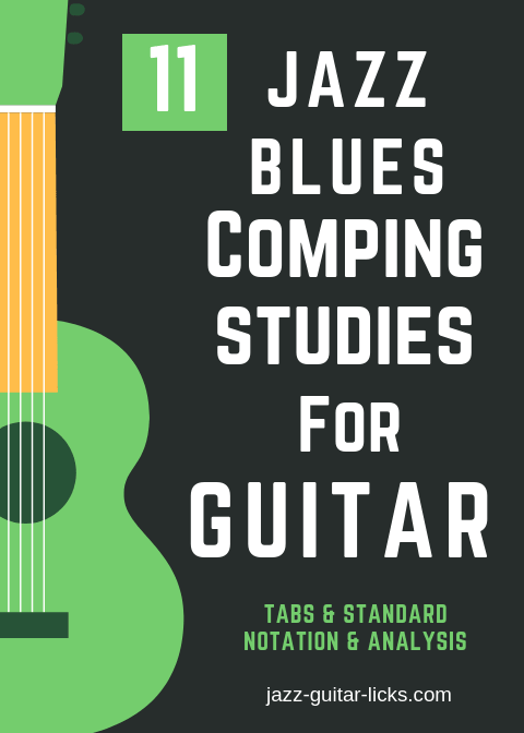 11 jazz blues comping studies for guitar