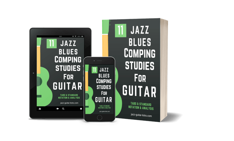 11 jazz blues studies for guitar