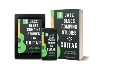 11 jazz blues studies for guitar pdf method