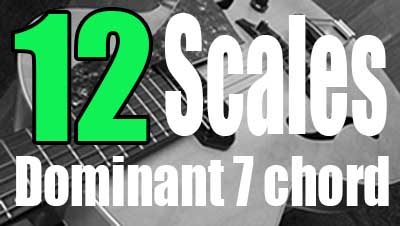 12 scales guitar lesson