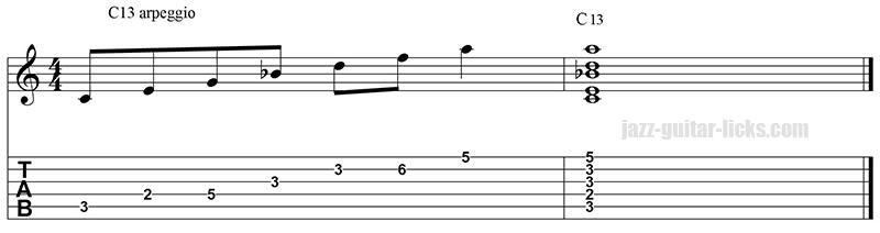 13 arpeggio and chord 2