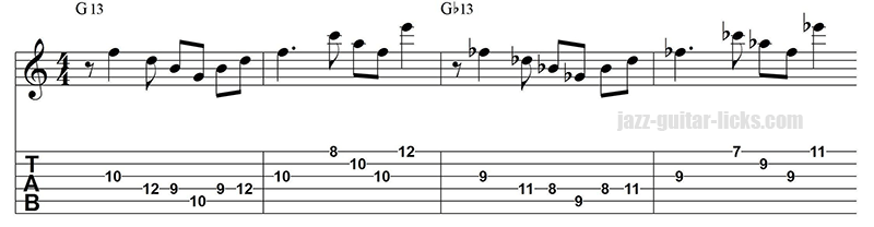 13 arpeggio warm up exercise for guitar