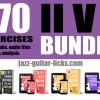 170 2-5-1 jazz guitar exercices