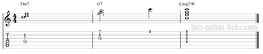 2 5 1 guitar chord clusters 7 1 3