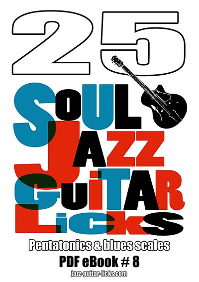 25 jazz soul guitar licks PDF eBook