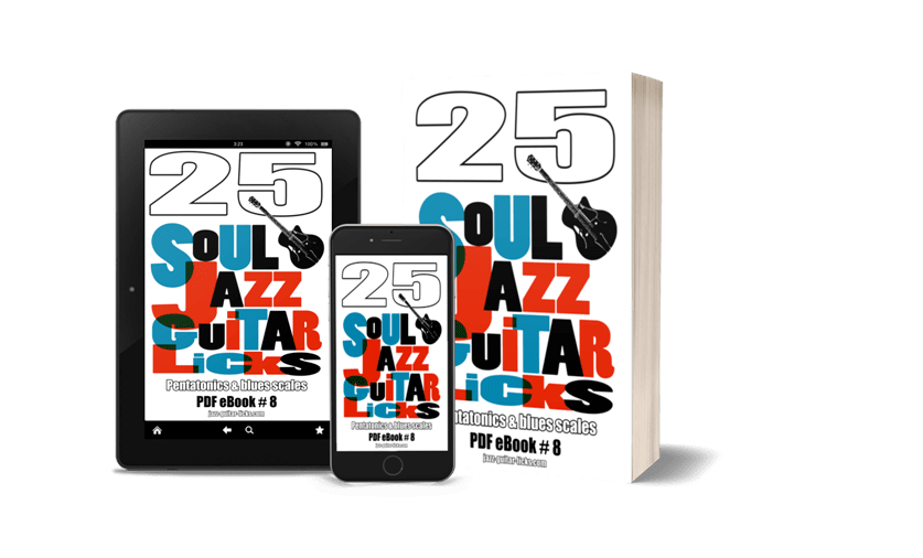 25 soul jazz guitar licks 2