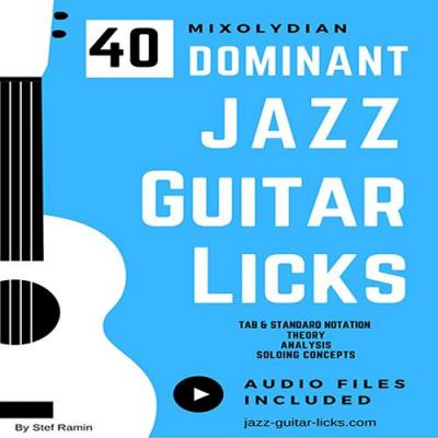40 dominant licks guitar method