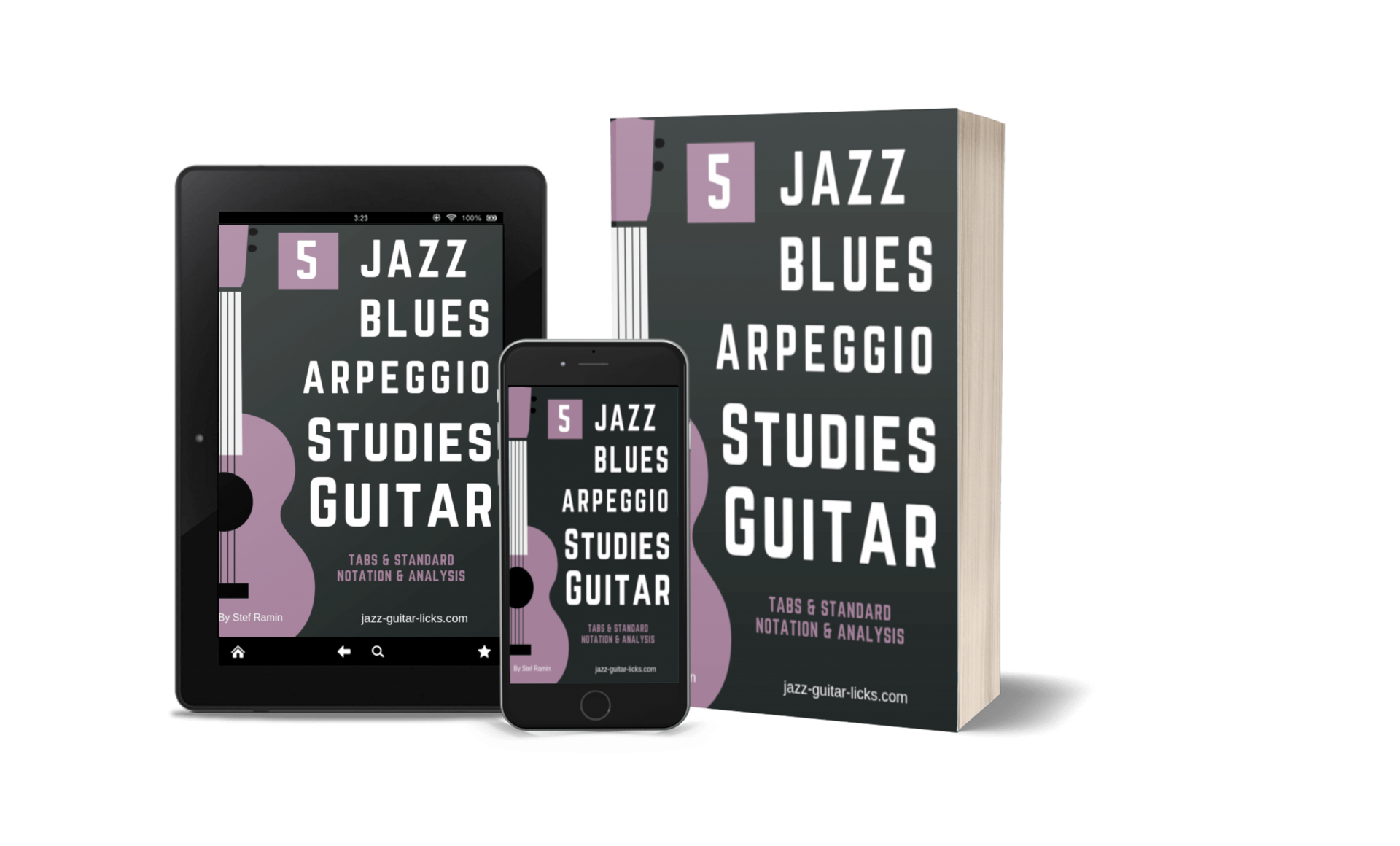 5 jazz blues arpeggio studies guitar PDF eBook