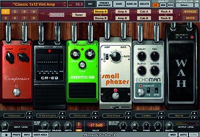 Amplitube 3 pedals