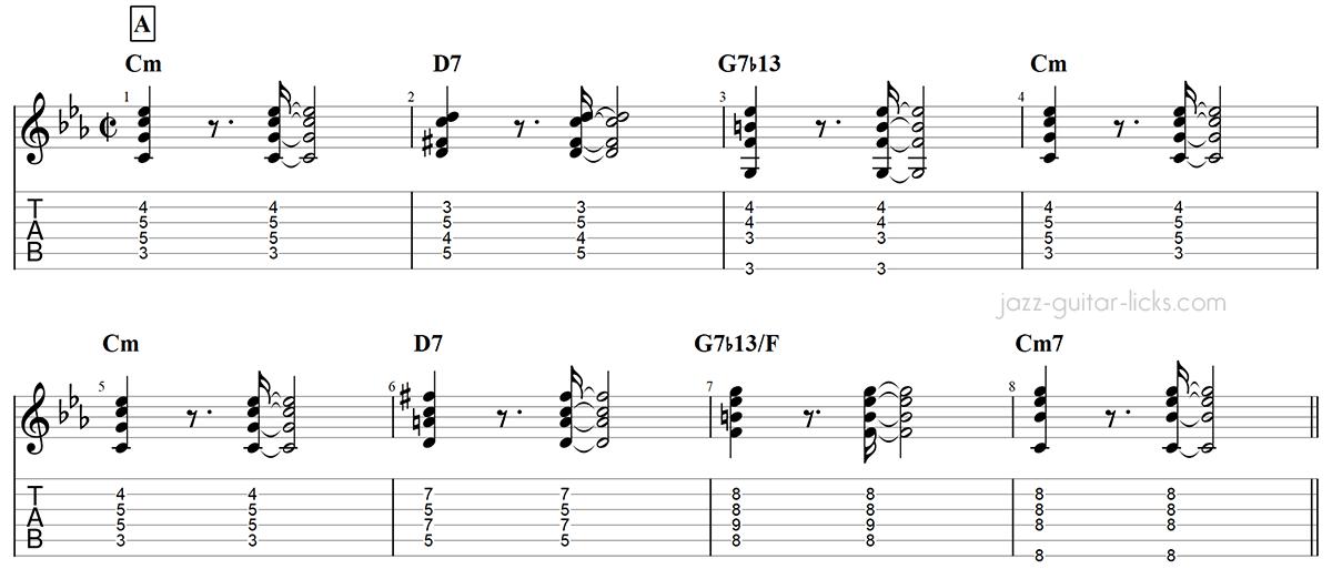 Armando s rumba guitar chords chick corea part 1