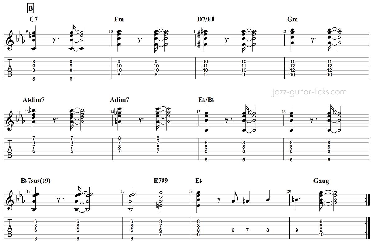 Armando s rumba guitar chords chick corea part 2