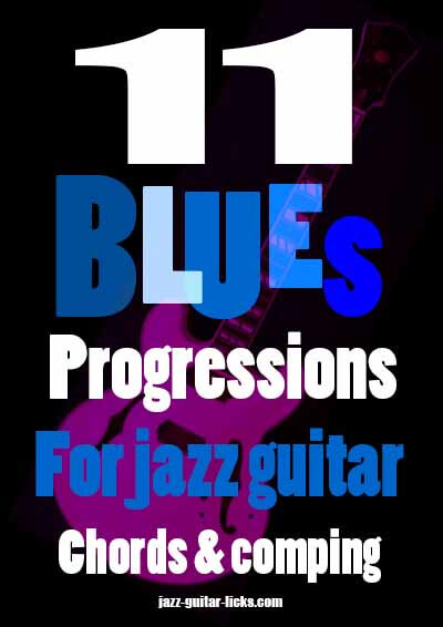 11 blues jazz progression for jazz guitar - Pdf eBook