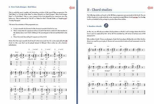 11 Blues Chord Studies for Jazz Guitar | PDF eBook and Audio