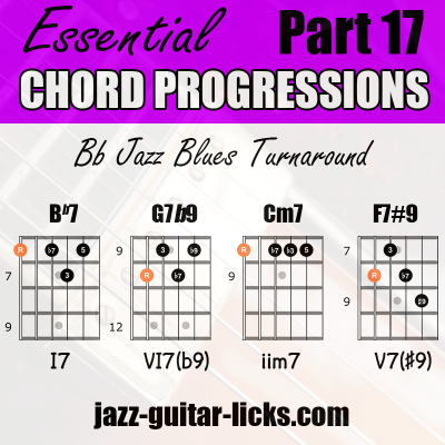 Chord progressions 17
