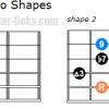 Dominant 13 arpeggio guitar shapes