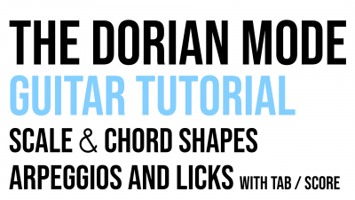 Dorian mode miniature