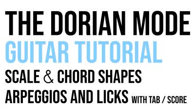 Dorian mode miniature