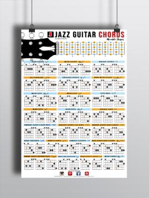 Guitar chords poster chart