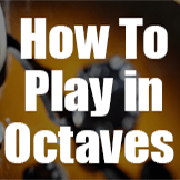 How to play in octaves carre